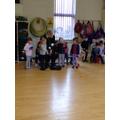 Practising balls skills and hitting a target
