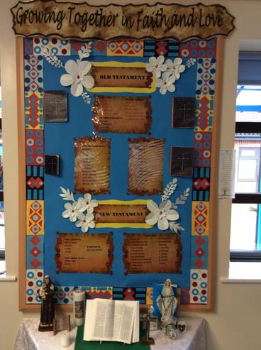 Mrs Indries class display.