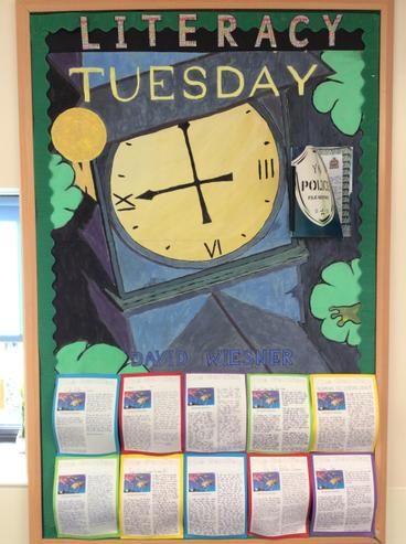 Mrs Indries literacy - Tuesday by David Wiesner.