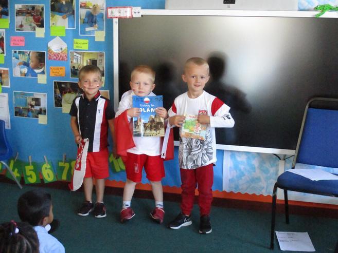Clothes representing Poland