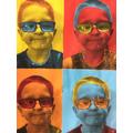Y1 Pop Art based on Andy Warhol