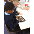 Y3 using Ipads to compose