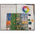 Y6 Sketchbook Work - Developing skills in the Color Theory
