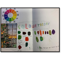 Y5 Sketchbook Work - Developing skills in the Color Theory