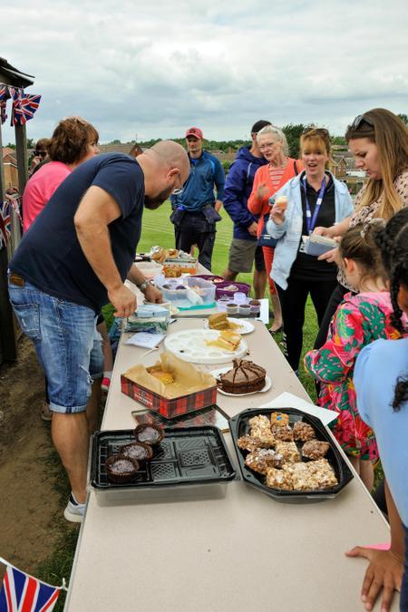 Cake Sale at the Summer Fair