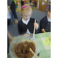 We added lots of ingredients.