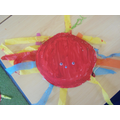 We made our own jellyfish!