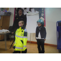 Superheroes - Learning about being a paramedic.