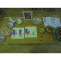 Manipulatives used in Year 1.