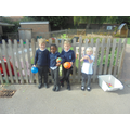 Imroving our playground - ball area.