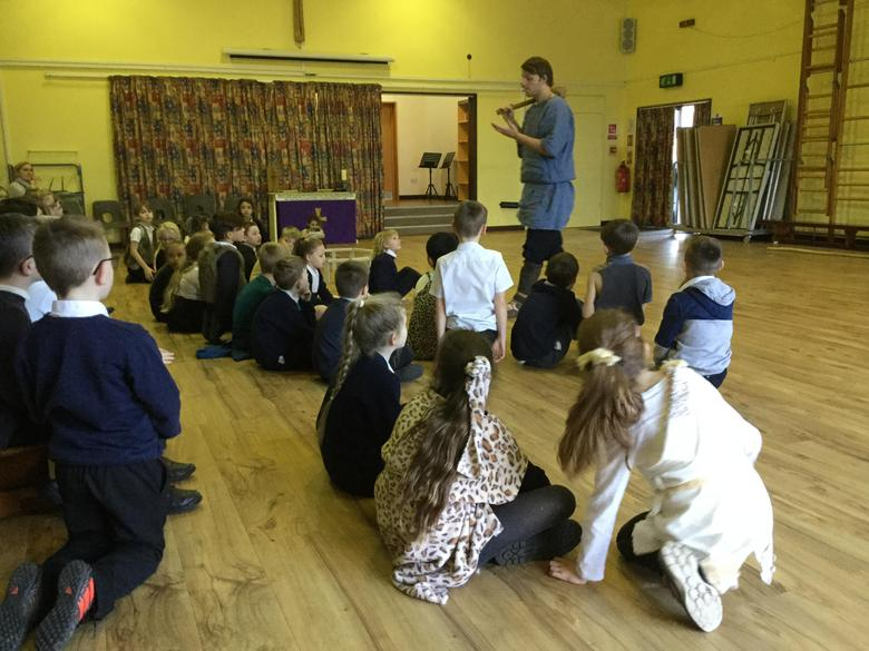 Year 3 and 4- Stoneage Day