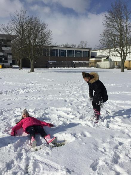 Experiencing the Snow!