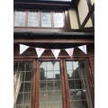 Louis' Finished Bunting