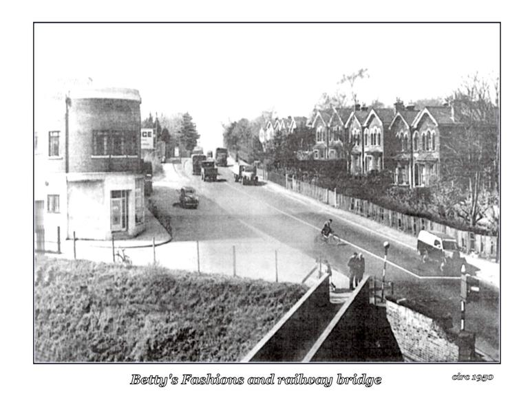 Swanley before Asda (looking up from train tracks)