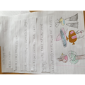 Lexi's strip poem about flying