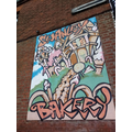 Linda-Lou discovered some graffiti art in Swanley