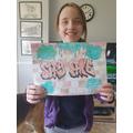 Jasmine's graffiti poster