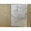 Phoebe's sketch of London skyline