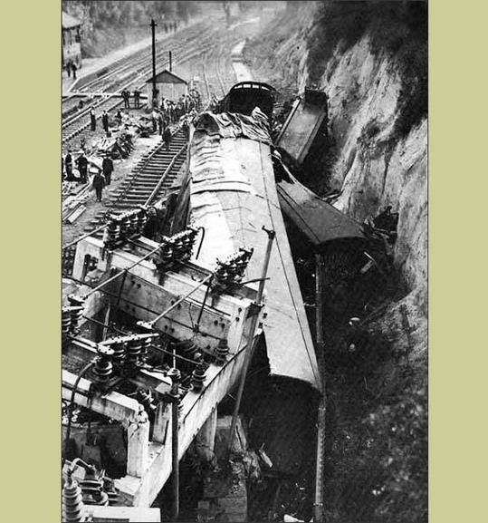 Swanley Junction Train crash
