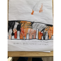 Phoebe's Great Fire of London pciture for art