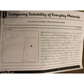 Sophia's Science work