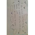 Alfie-James' strip poem about flying.