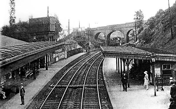 Swanley Junction Station 1920's