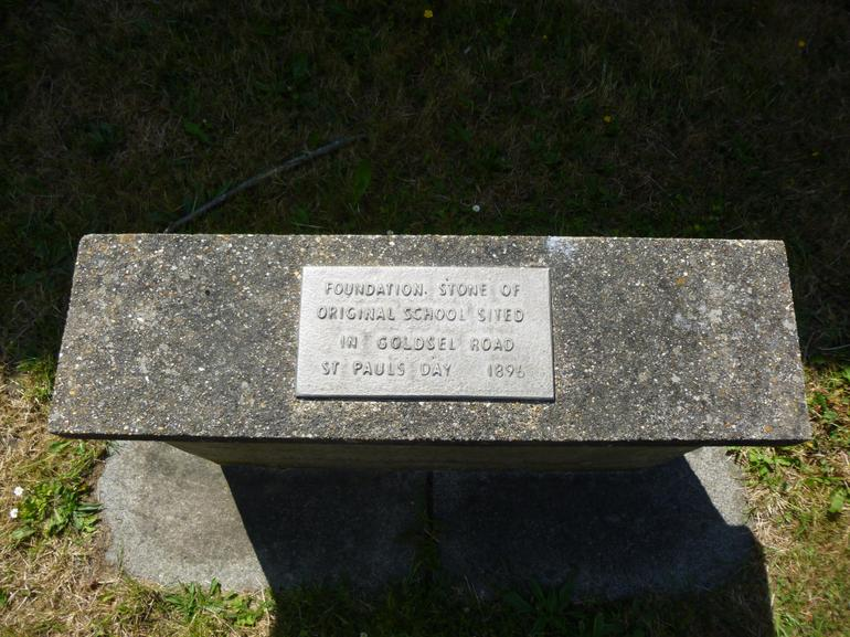 Original Foundation stone from 1896