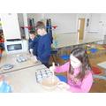 We enjoyed making cakes.