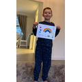 Jayden's rainbow picture
