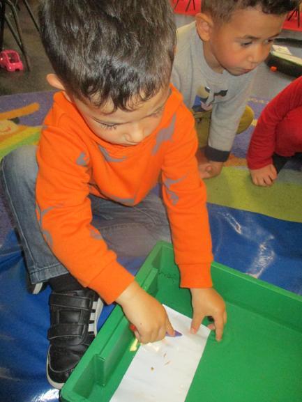 Jenson chose paper and a felt pen