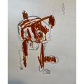Bens' red panda drawing