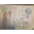 Lexi's zoo drawing