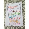 Writing dinosaur names