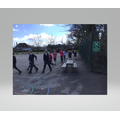Our 'mad mile' in aid of Comic Relief