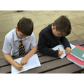 Making the most of the dry weather during 'Free-write Friday'