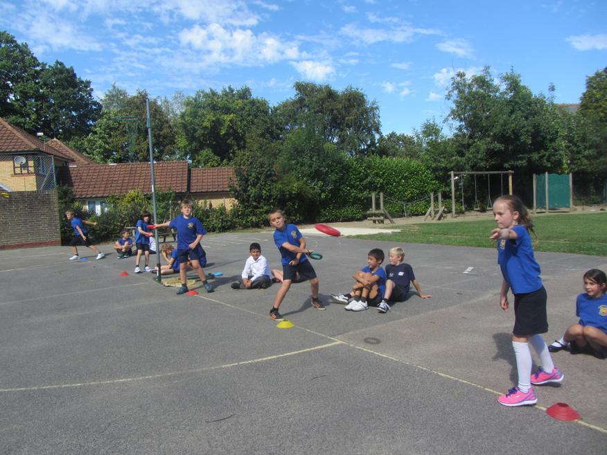 Discus was part of the pentathlon.