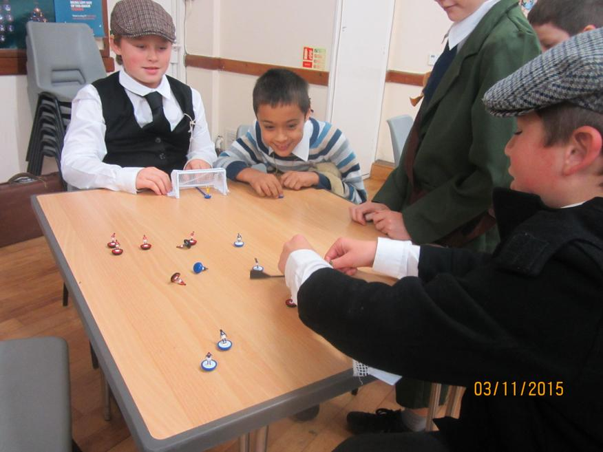 playing traditional games