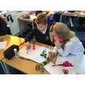 Studying flowers in Science