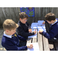 We love working outside in the sunshine!