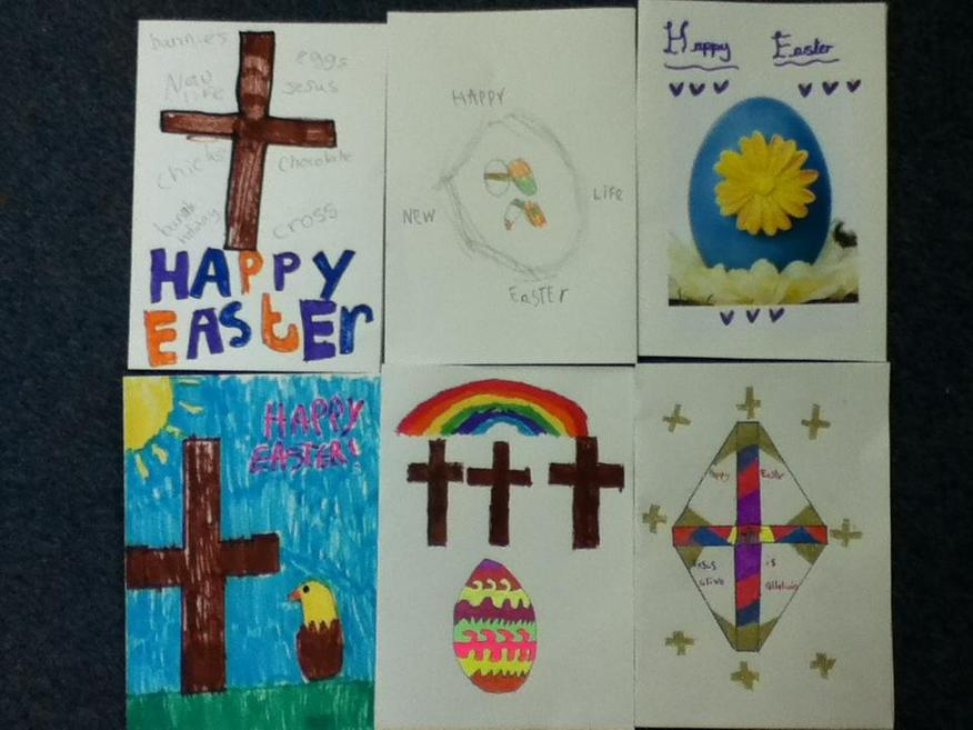 We designed our own cards.