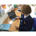Working creatively on 'Free-write Friday'