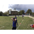 We ran 600m during a P.E. lesson!