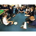 We composed a piece of music based on 'The Planets' by Holst