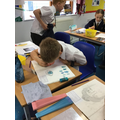 Painting self-portraits in Art