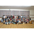 All of the evacuees from Year 5 & 6.