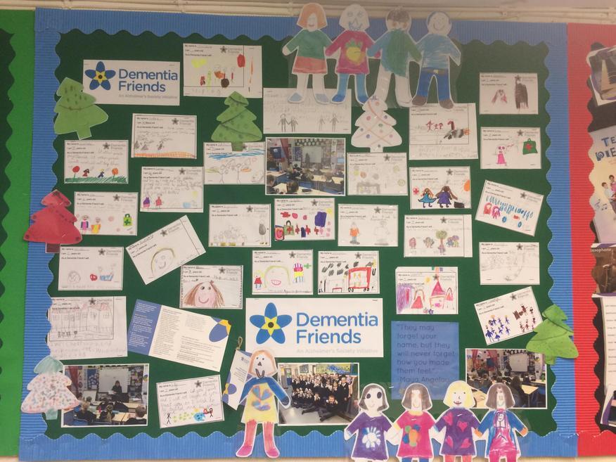 Dementia Friends & Inter-generational Work display