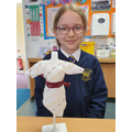 We are very proud of our sewing projects!