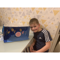 We also learnt about the different planets in our solar system!