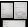Sophia's wonderful persuasive letter.
